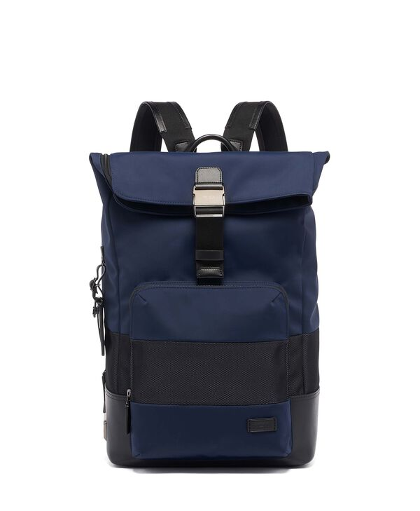 Harrison Oak Roll Top Backpack