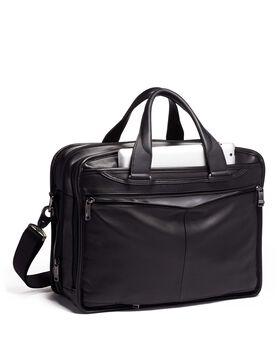 Expandable Organizer Laptop Brief Leather Alpha 3