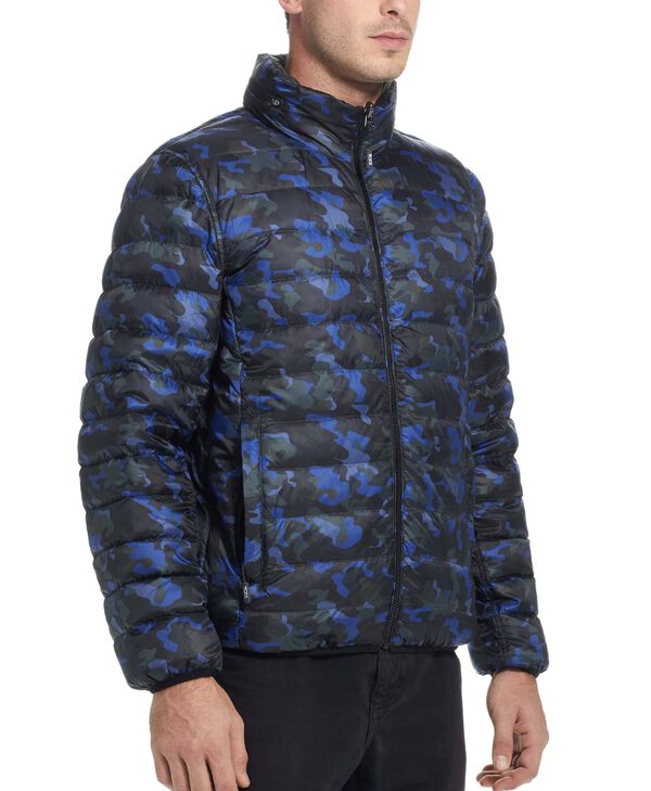 TUMIPAX Outerwear Patrol Reversible Packable Travel Puffer Jacket L