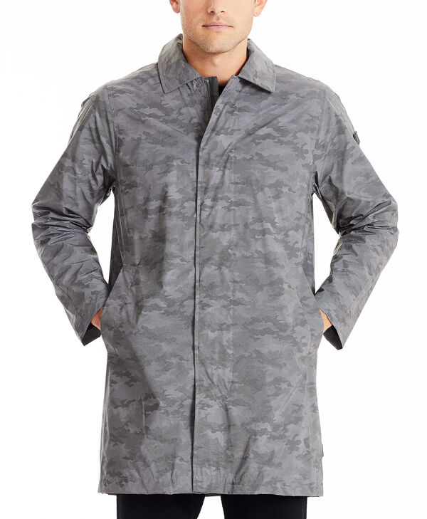 TUMIPAX Outerwear Men's Reflective Rain Coat S