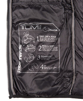 Patrol Packable Travel Puffer Jacket Tumi PAX Outerwear